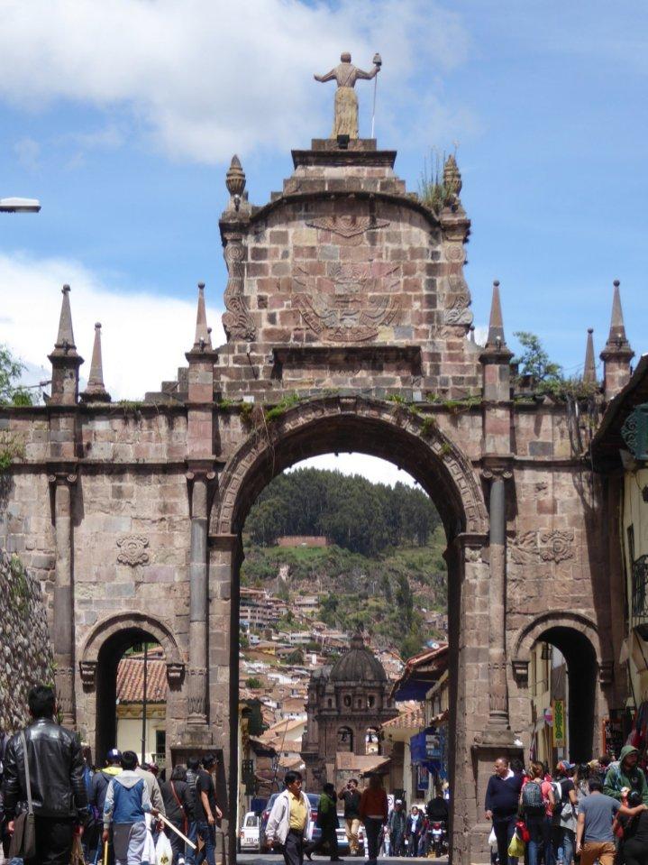 Leuk poortje! Cusco