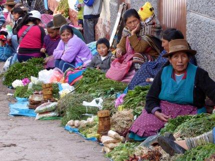 Marktje. Cusco