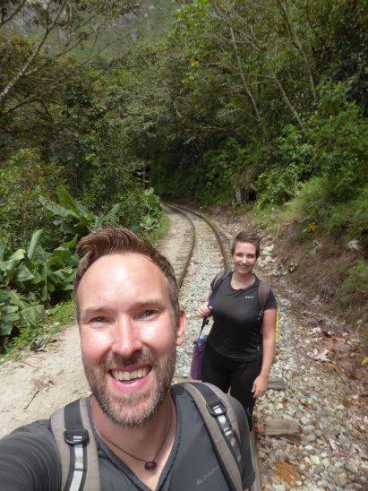 Hep'ie us Machu Picchu op het spoor.