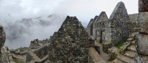 Lekker bezig geweest met stenen. Machu Picchu