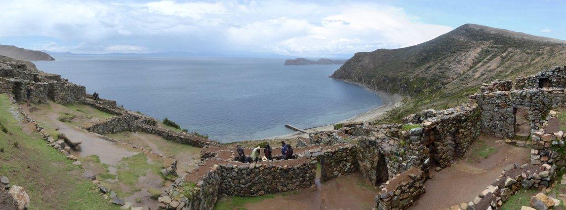 De Chincana ruÏnes. Isla del Sol
