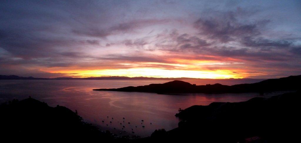 Oh daarom heet het Isla del Sol.