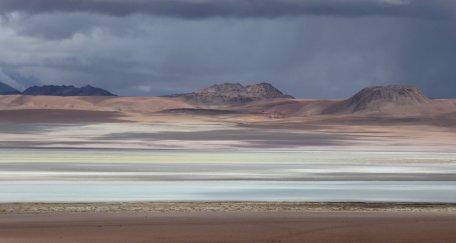 Het is bijna een schilderij. Zuid Bolivia road trip