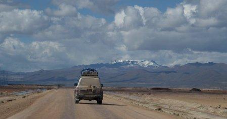 De road trip zit er bijna op... dan kan de auto wel een wasbeurt gebruiken.