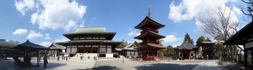 Het Naritasan Shinshō-ji Temple complex. Narita