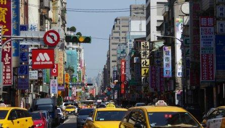 De gezellige drukte van Taipei.