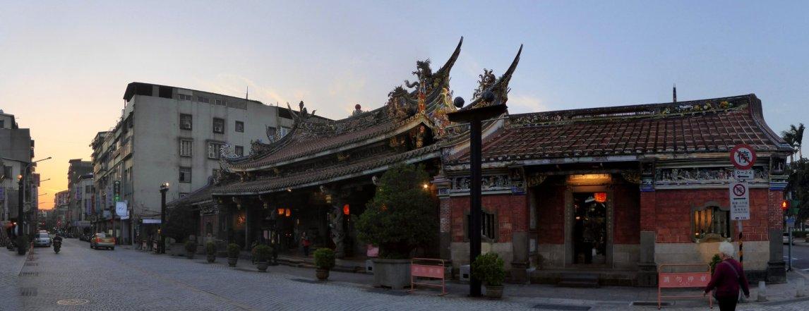 Dalongdong Baoan Temple. Taipei