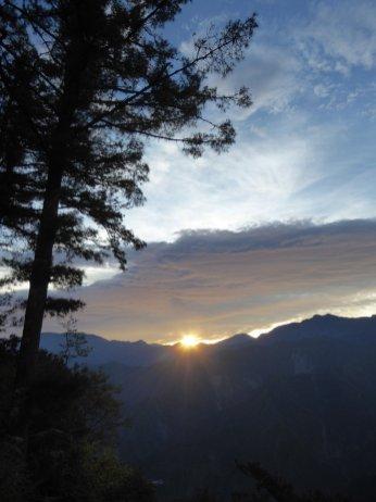 Ja zonnestraaltjes! Alishan NP