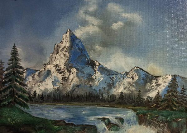 Картина гора купить