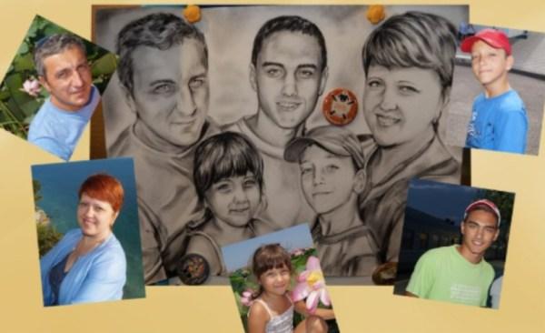 Семейная картина на заказ
