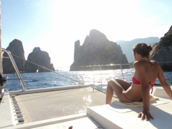 Vacanze in catamarano Capri