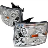 AZ Motor Trendz: SPEC-D Tuning 2LHP-SIV07-TM Chrome Halo Projector Headlights