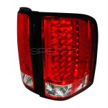AZ Motor Trendz: SPEC-D Tuning LT-SIV07RLED-KS Red/Clear Euro LED Tail Lights