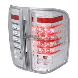 AZ Motor Trendz: SPEC-D Tuning LT-SIV07CLED-RS Smoked LED Tail Lights
