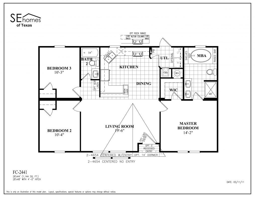 Inspirational Fleetwood Mobile Home Floor Plan