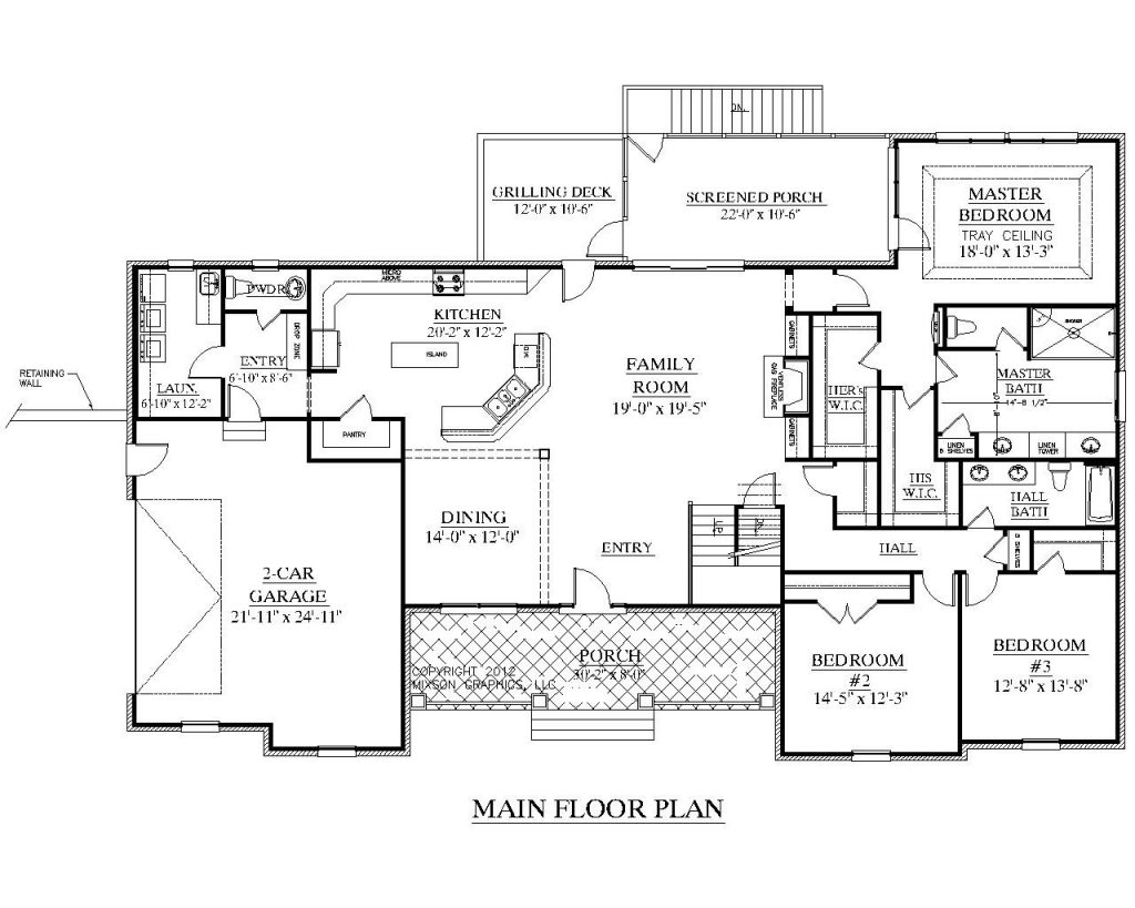 Inspirational Square Foot Ranch House Plans