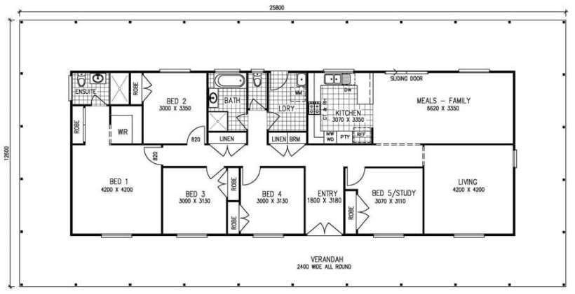 5 bedroom house plans. 5 Bedroom Bungalow House Plans Uk Www Redglobalmx Org  www redglobalmx org