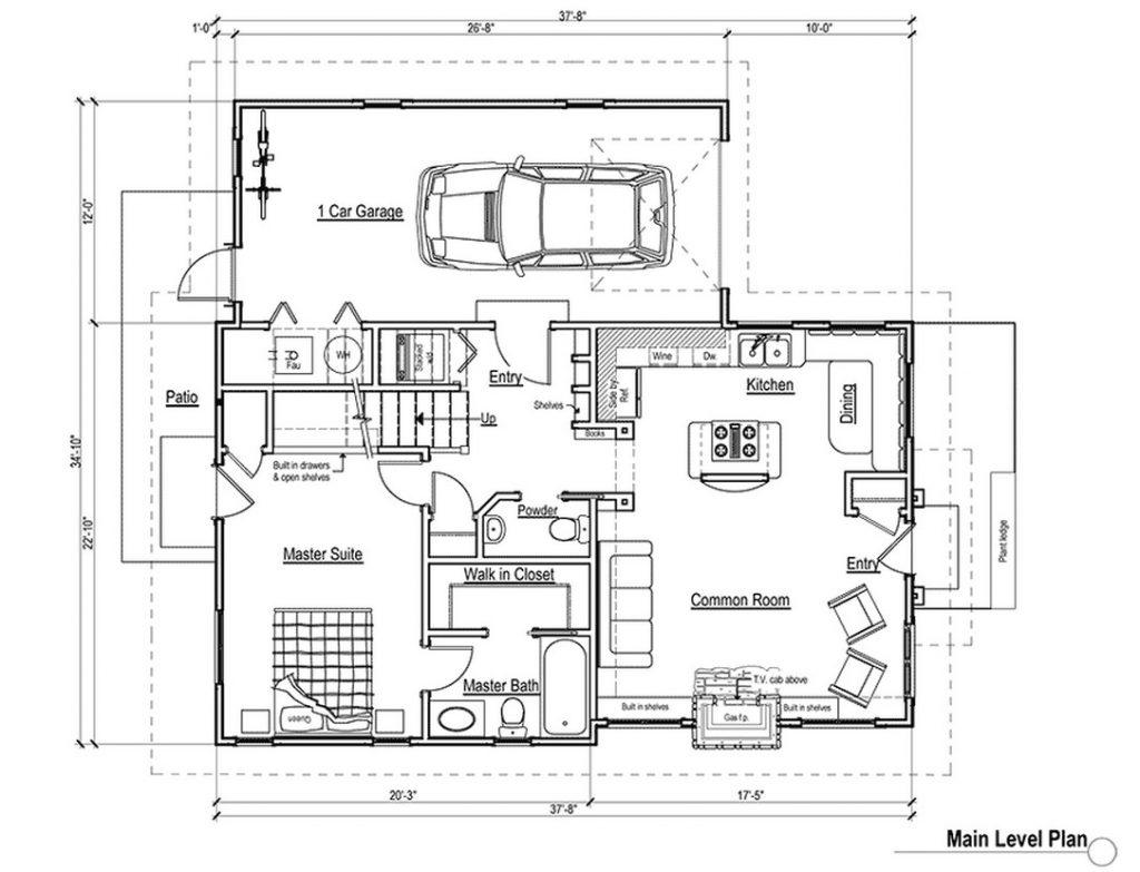 Unique Beautiful 4 Bedroom House Plans