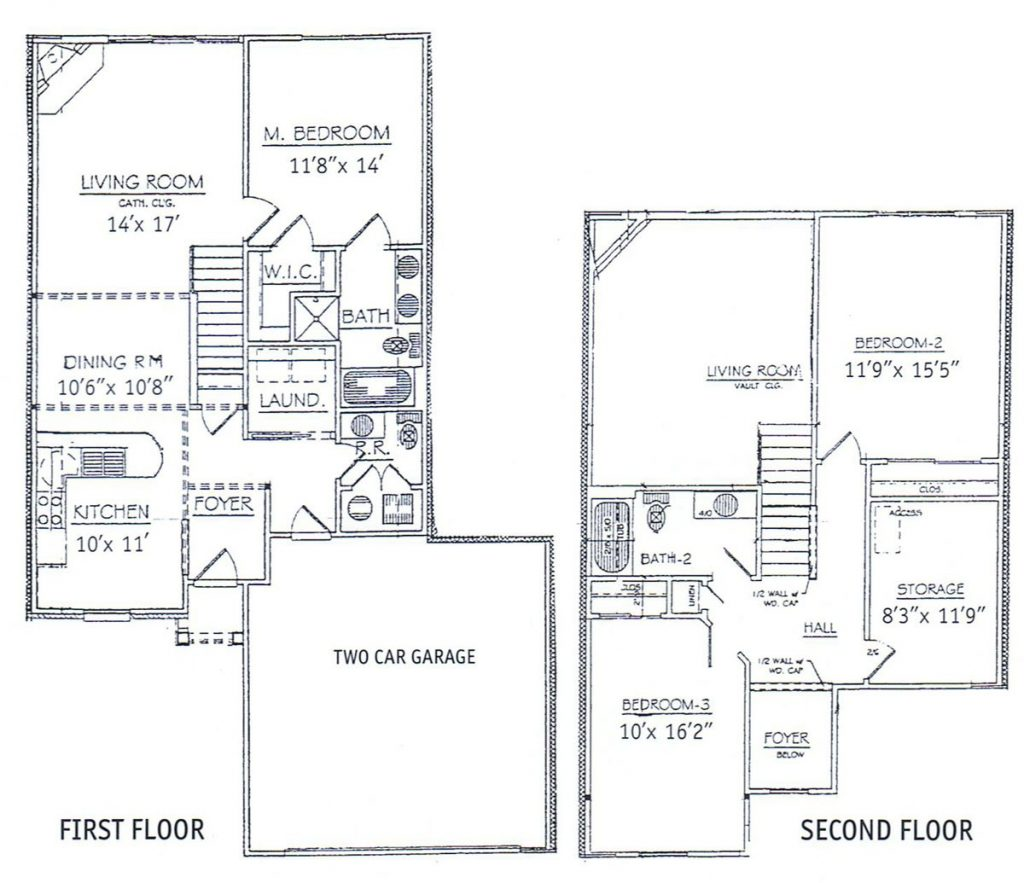 Luxury House Plans Two Story With Basement