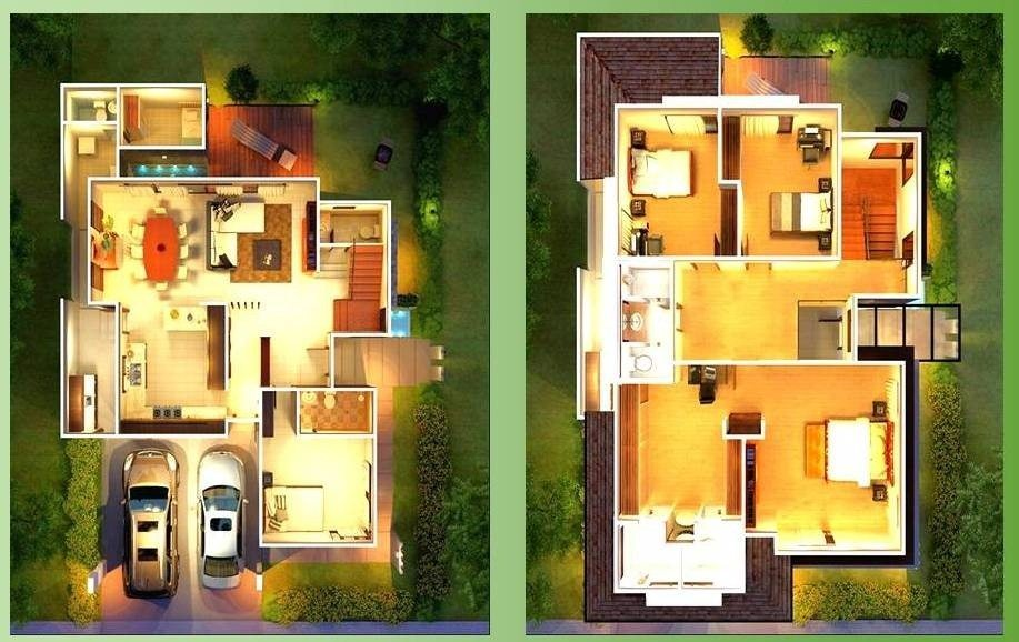 Awesome Modern House Designs and Floor Plans Philippines ...