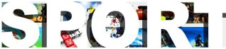 Sport heading banner header sports images photos pics bold white type