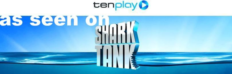 As seen on the Shark Tank TV show TenPlay channel 10 logo 2015