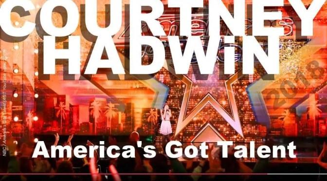 COURTNEY HADWiN America's Got Talent 2018 golden buzzer winner
