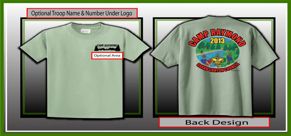 boy scouts camp raymond shirts, boy scout venders, national boy scout shirt vendor, boy scouts of america