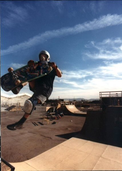 Tower Skate Park - R.I.P (FS air to Madonna offset)