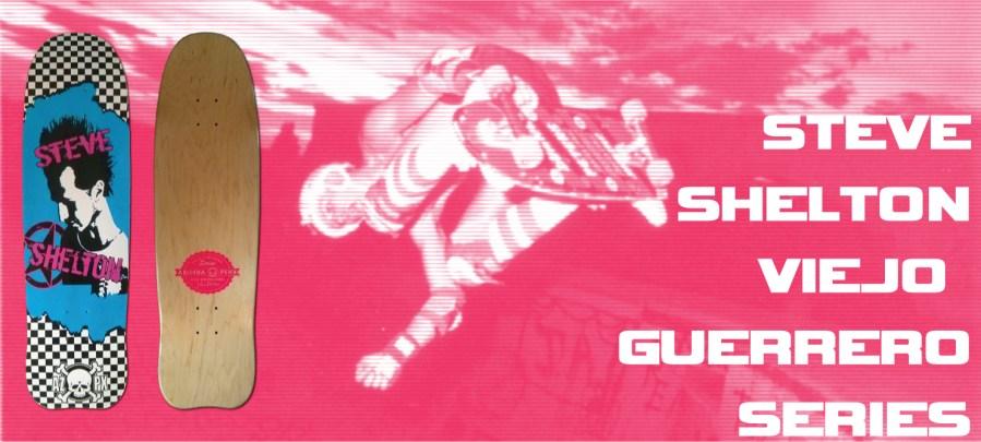 AZPX Viejo Guerrero Series Steve Shelton Deck