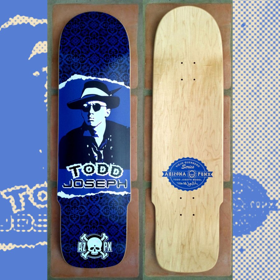 Todd Joseph Viejo Guerrero Series Deck Out Now!