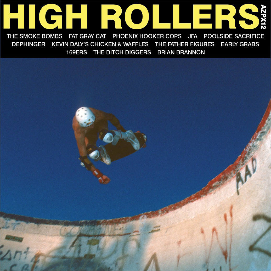 AZPX12: VARIOUS ARTISTS – 'HIGH ROLLERS' 12″ Vinyl