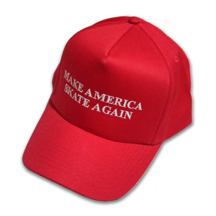 Make America Skate Again Hat Red