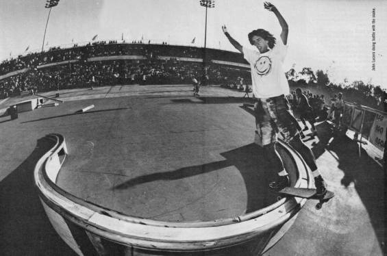 Lucero rules and so does this pic of him boardsliding one of the coolest rails I've ever seen