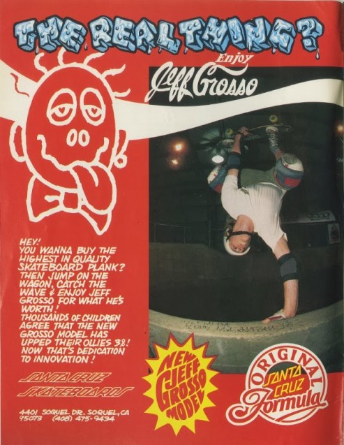 One of my favorite skaters, Jeff Grosso egging out at Turf Skatepark in Wisconsin.