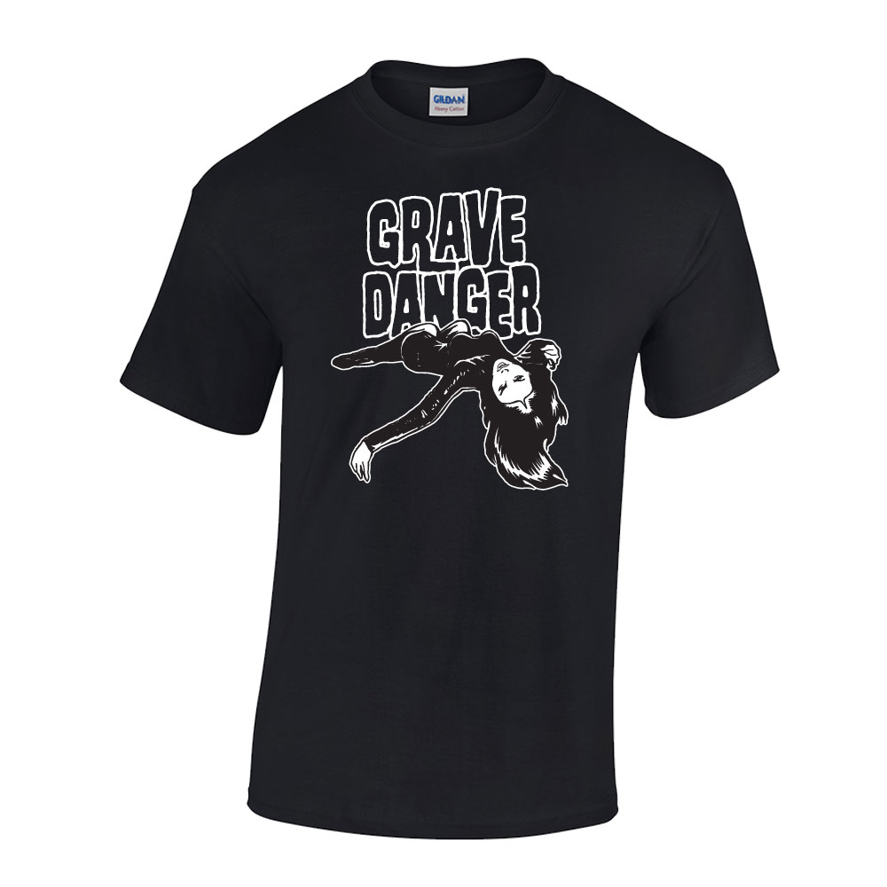 Grave Danger Mens T-shirt Black