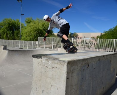 Mike Hathcote is on a mission to Backside Pivot EVERYTHING and the Monolith at Tempe is no exception.