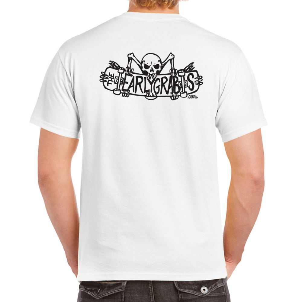 The Earlygrabs White T-shirt