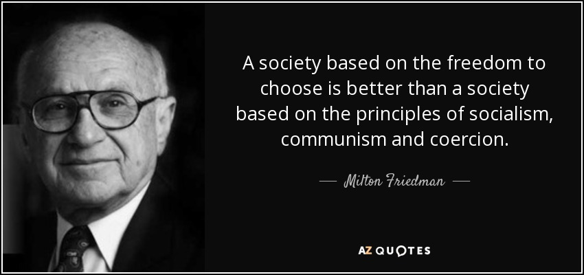 Image result for milton Friedman, Freedom to Choose