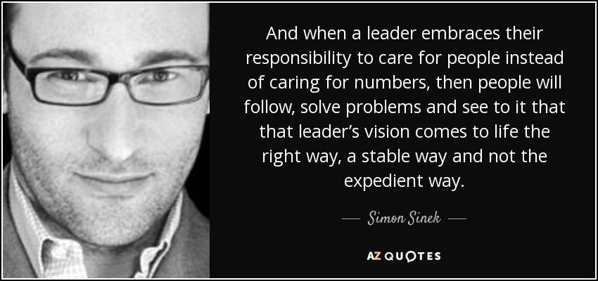 Caring Quotes Leadership