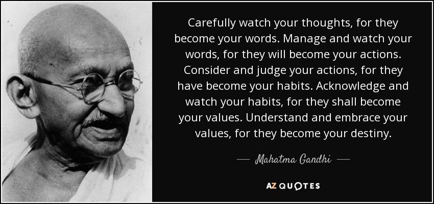 Mahatma Gandhi Quotes All Hindu Temples In India