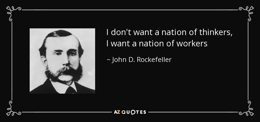 Image result for give me a nation of workers