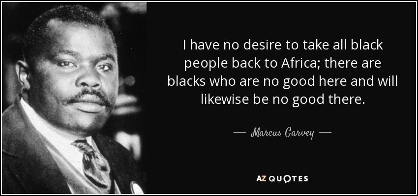 Image result for blacks back to africa