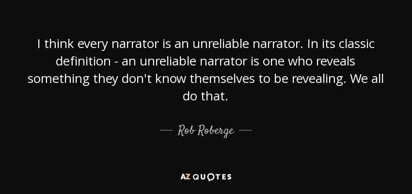 Image result for unreliable narrator