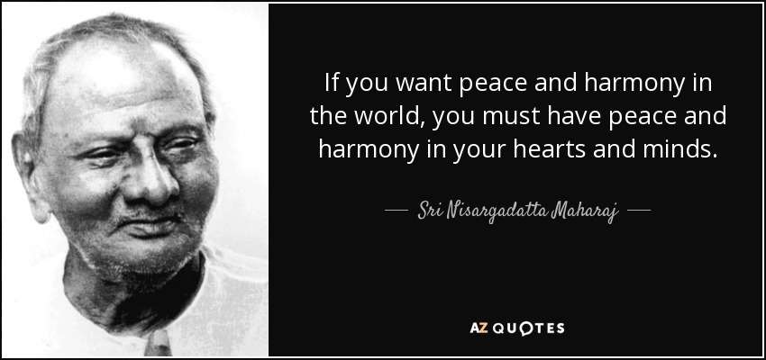 Image result for peace and harmony quotes