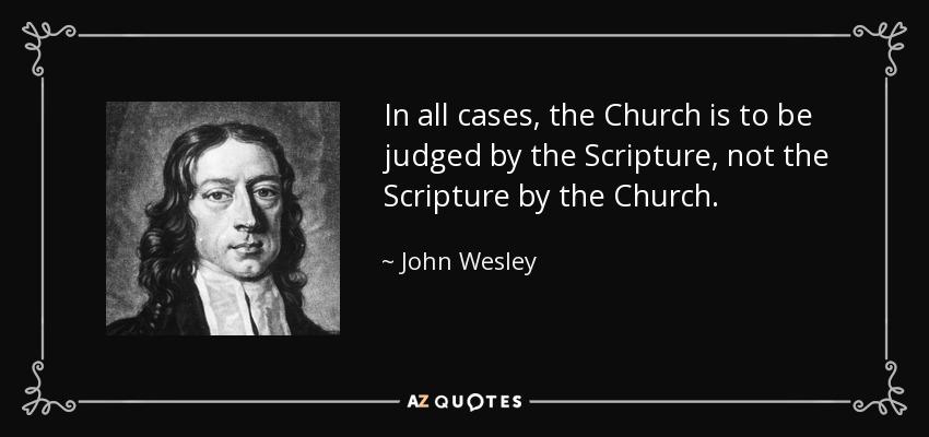 Image result for Wesley on Scripture