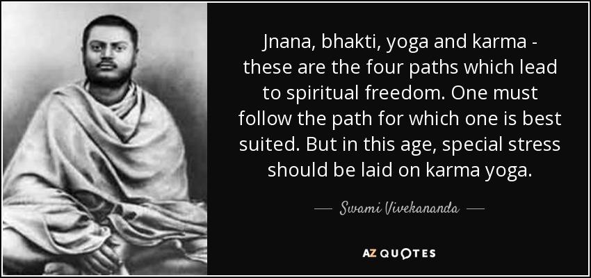 Swami Vivekananda Quotes Jnana Bhakti Yoga