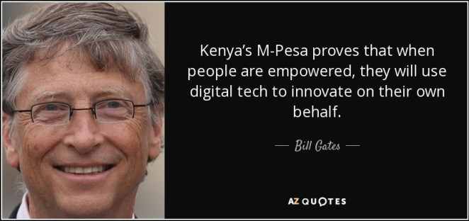 M-Pesa: Kenya Money Transfer App That Impressed Bill Gates