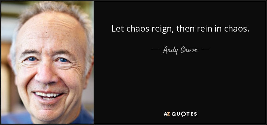 chaos, andy grove