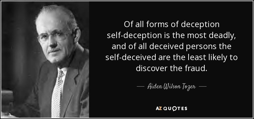 Image result for self deception quotes